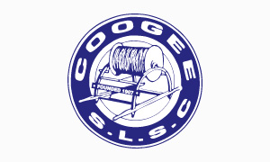 Coogee SLSC logo on white background