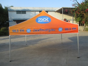corporate marquee 3m x 3m