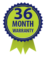 36 Month Warranty logo