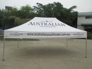Printed Marquee 4.5mx3m