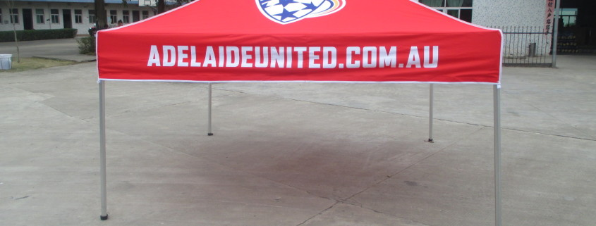 Printed Marquees Adelaide United