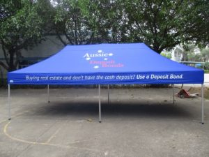 branded corporate marquees