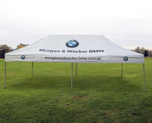 Printed gazebo corporate tent