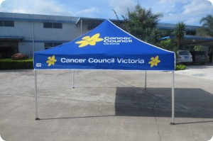 Cancer Council Printed 3mx3m