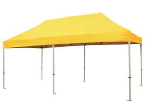 Large coloured gazebo tent