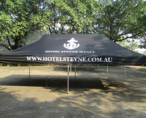 Printed Corporate tent