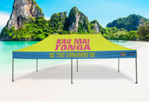 Printed Gazebo Brisbane 6 x 3