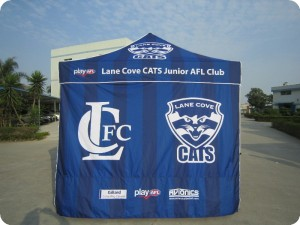 Branded Marquee with printed wall