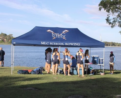 Printed School rowing tent