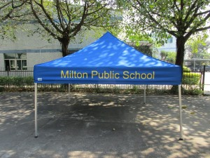 Printed marquee school