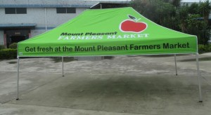 Printed Marquee Mount Pleasant 4.5m x 3m