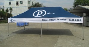 6mx3m printed marquee