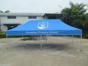 6 x3 printed school marquee