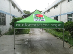 printed marquee 3m x 3m