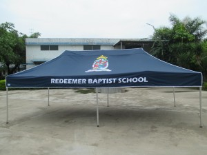 printed school marquee 6 x 3
