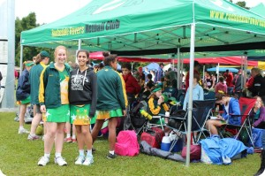 Outdoor gazebos and tents for sports games