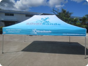 Printed Marquee 4.5m x 3m