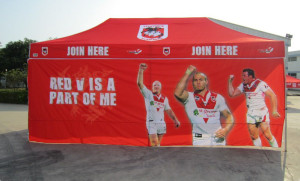 Printed Marquees 6m x 3m