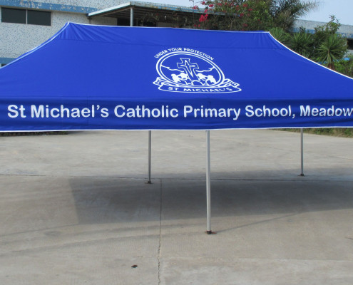 Printed School Marquee 6mx3m