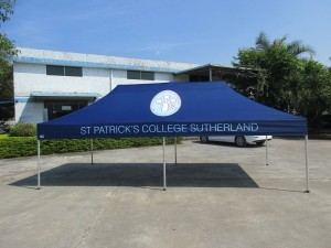 6x3 School tent with print