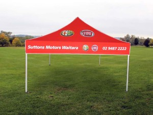 branded marquee