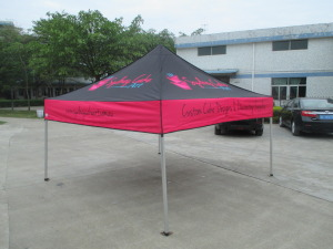 Printed marquees 3m x 3m