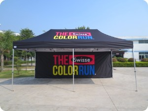 Printed Marquee Color Run