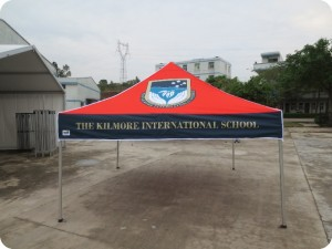 3mx3m Printed School Marquee