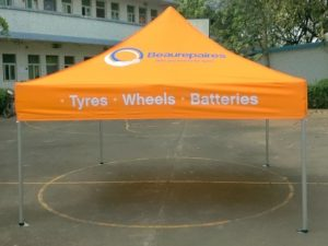 Branded Tent