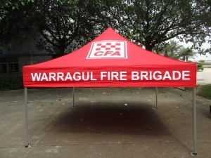 Printed Marquee Fire