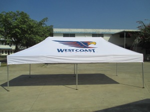 branded sports marquee 6m x 3m