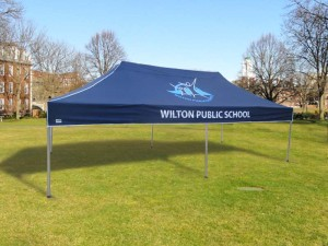 School marquee printed
