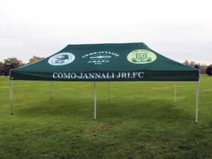 Printed sports marquee