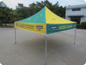 printed marquee multi colour