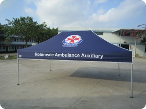 Printed Ambulance marquee