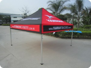 printed marquee 3 x 3