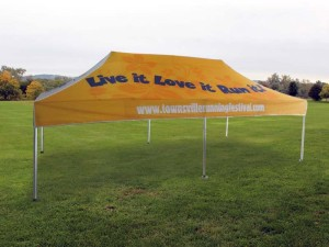 6x3 printed marquee sport