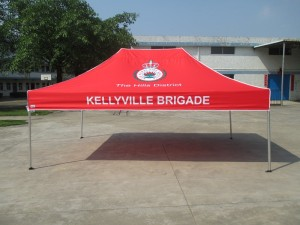 emergency services marquee tent