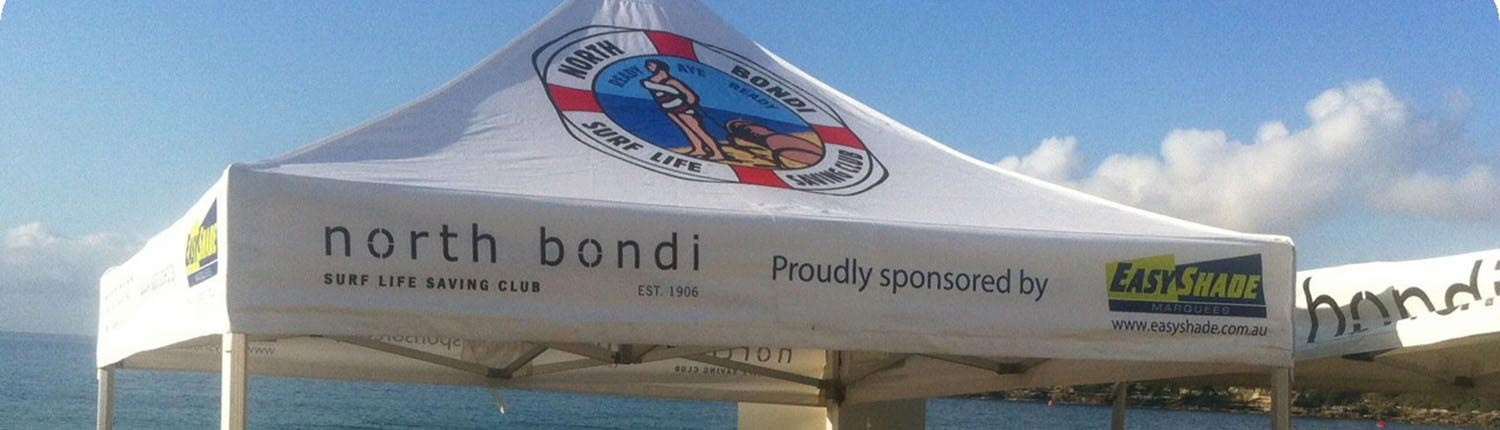 Surf Lifesaving printed canopy
