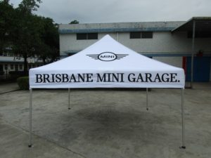 Brisbane marquees printed and plain
