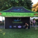 Branded gazebo Trimotivate