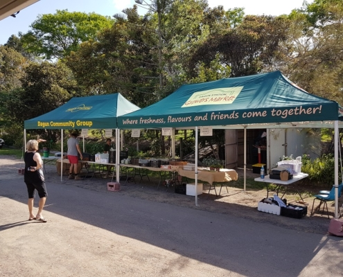 Branded gazebos outdoor markets