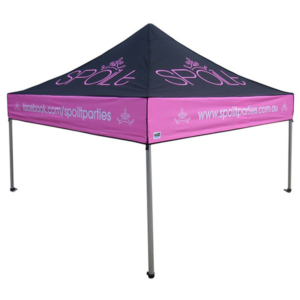 Spoilt party promotional marquee 3mx3m