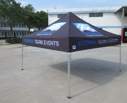 Everest event promotional marquee
