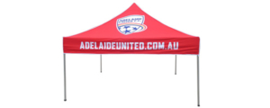 Adelaide United Football Marquee printed