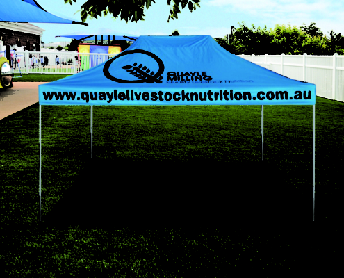 branded promotional gazebo 4.5mx3m