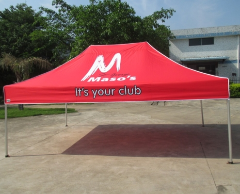 printed gazebo tent 6mx3m