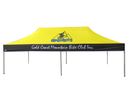Multicolour printed sports marquee