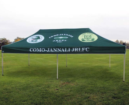 Sports gazebo custom print 6mx3m