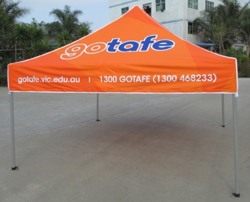 TAFE printed gazebo 3mx3m